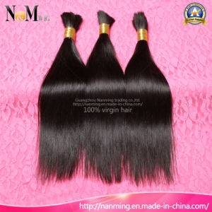 Human Hair Extension 100% Unprocessed Virgin Peruvian Hair Bulk pictures & photos