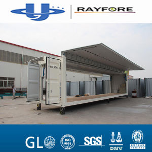 Customized 20FT 40FT Flying Side Open Container Rayfore Container pictures & photos