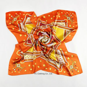100% Silk Women Fashion Silk Scarf pictures & photos