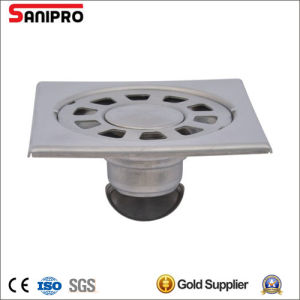 Shower Kitchen Solid Square Floor Waste Grate Sanitary Drain pictures & photos