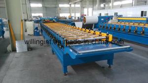High Quality Steel Metal Trapezoidal Roof Roll Forming Machine pictures & photos