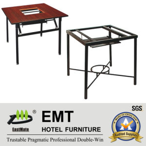 Simple Design Dining Table Special for Chaffy Dish (EMT-FT621) pictures & photos