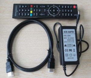 H. 265 Broadcasting Equipment Decoder DVB S2 DVB T2/C with IPTV Zgemma H5 pictures & photos