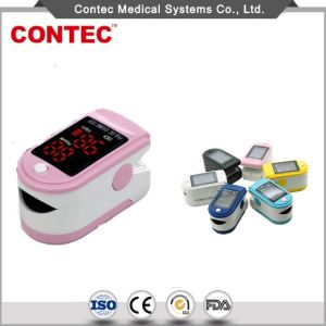 China Supplier Contec Cheap Adult LED Pulse Oximeter Fingertip Ce/FDA pictures & photos