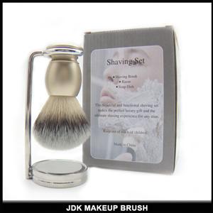 Nice Golen Metal Handle Nylon Shaving Brush Aluminium Handle Shaving Brush (JDK-SA101)
