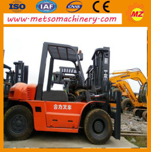 Used Fd10 Heli Forklift for Construction (FD10)