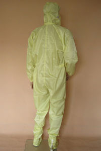 Dustfree Cleanroom Washable ESD Work Jumpsuit pictures & photos
