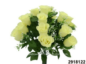 Artificial/Plastic/Silk Flower Rosebud Bush (2918122) pictures & photos