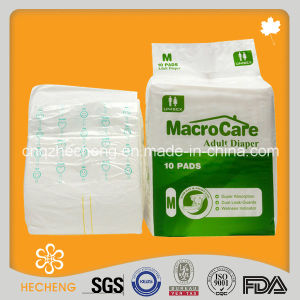 Wholesale Macrocare Designer Cute Thick Printed Adult Diapers pictures & photos