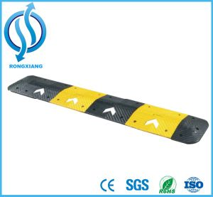 Durable Pressureproof Industrial Safety Rubber Car Speed Hump pictures & photos