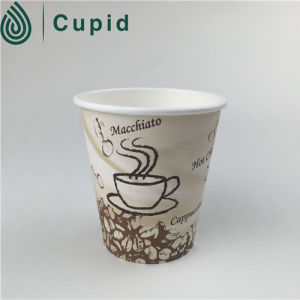 6oz Disposable Paper Cup with Lid pictures & photos