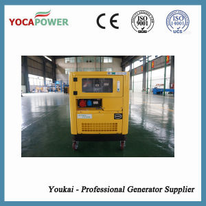 10kw Silent Portable Air Cooled Small Diesel Generator Set pictures & photos