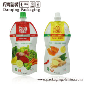 Juice Stand up Pouch with Spout Drink Packaging Bag pictures & photos