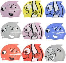 Lovely Silicone Cartoon Swimming Cap for Children pictures & photos