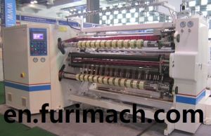 Fr-218 Center Surface Winding & Slitting Machine for Plastic BOPP, Pet, CPP, PVC Film pictures & photos