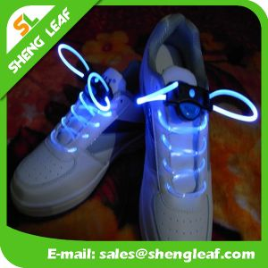 High Quality Promotional LED Glowing Shoelace (SLF-NS013) pictures & photos