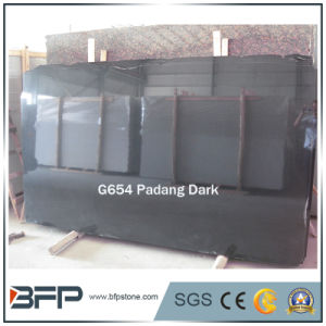G654 Padang Dark Black Granite Slabs for Flooring Tiles/Wall Tiles pictures & photos
