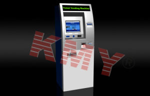 Hotel Self-Check in/out Cards Dispense Payment Kiosk Cash Acceptor pictures & photos