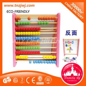 Educational Abacus Kids Wooden Abacus Montessori Toy pictures & photos