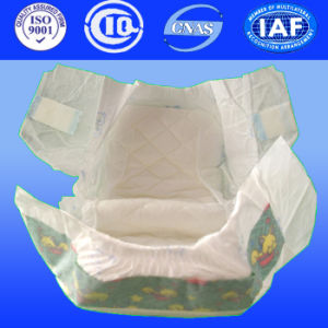 Baby Diaper with Magic Tapes pictures & photos