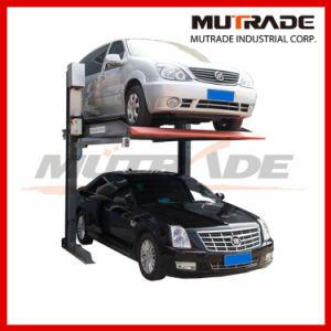 Dual Cars Simple Parking Lift pictures & photos