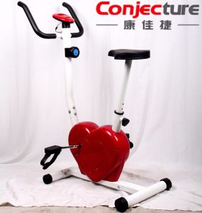 Body Building Equipment Heart-Shaped Magnetic Exercise Bike pictures & photos