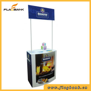 Folding Pop up Counter Plastic Promotion Table Counter pictures & photos