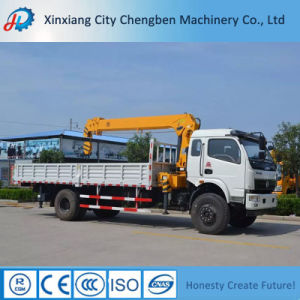 Chinese Brand Telescopic Mobile Tipper Truck Mounted Crane for Loading pictures & photos