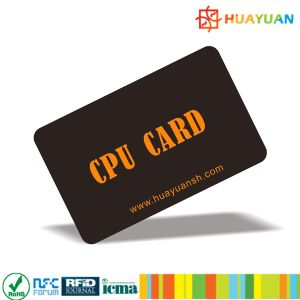Special offer SO14443A High Security contactless JCOP support FM1280 ID CPU Card pictures & photos