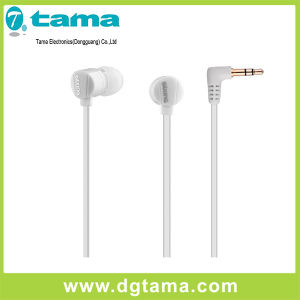 Plastic Wired Earphone Insert Ear 3.5mm Stereo Mobile Phone Headphone pictures & photos