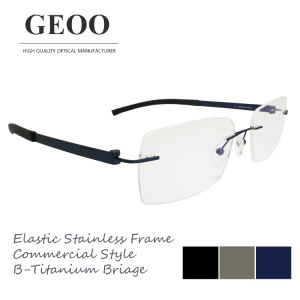 Stainless & B-Titanium Bridge Optical Frame (XS5655)