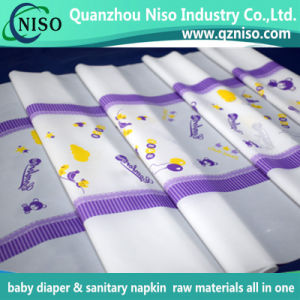 Diaper Backsheet Material 3D Embossing Poly Film with SGS Certification pictures & photos