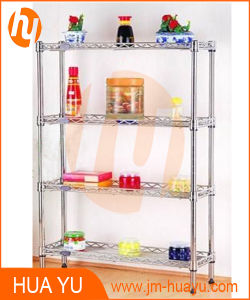 Chrome Finish Display Shelf for Storage or Decoration pictures & photos