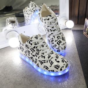 2017hot Selling Light up LED Shoes with USB pictures & photos