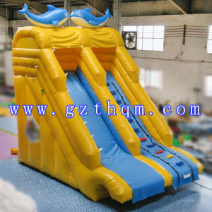 Inflatable Jumping Water Slides for Kids/Commercial Quality Inflatable Slides pictures & photos