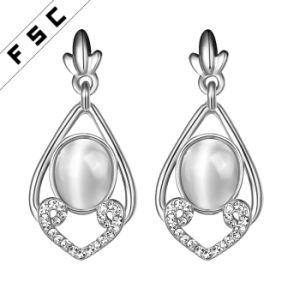 Fashion Copper Geometrical Shaped Party Earrings for Women pictures & photos
