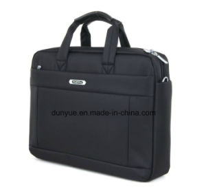 "Simple Promotional Nylon Laptop Messenger Bag, Portable Multifunctional Laptop Single Shoulder Bag Fit for 15.6"" Laptop pictures & photos"