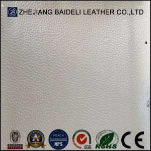 High Quality Embossed PVC Microfiber Synthetic Leather for Sofa Furnitre Upholstery pictures & photos