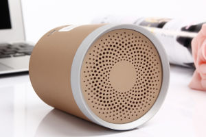 Round Audio portable Mini Bluetooth Stereo Speaker pictures & photos