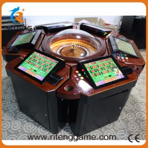Casino Slot Machines Wood Roulette Table for Sale pictures & photos
