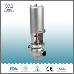 Sanitary Stainless Steel Pneumatic Welded Stop Valve with 3A pictures & photos