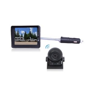 "Wireless Hitch Camera System with 3.5"" LCD Monitor and Waterproof Camera pictures & photos"