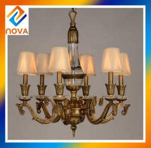 Ceiling Lighting Bronze Chandelier Lamp Pendent with 8 Heads 50V-240V pictures & photos