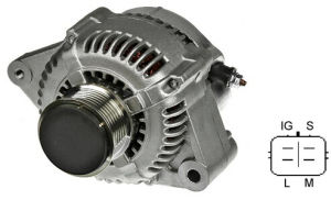 Hilux 2.5 D Alternator 102211-2310; 102211-2810; 104210-8020; 104210-8021; 104210-9010; 104210-9011; pictures & photos