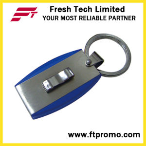 Metal Keyring USB Flash Drive with Logo (D307) pictures & photos