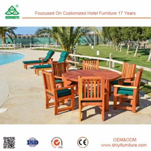 Outdoor Pool Reclaimed Wood Chair Dining Table pictures & photos