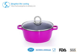Die Casting Non-Stick Soup Pan for Cookware pictures & photos