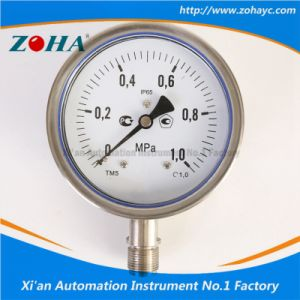 Stainless Steel Manometer with Accuracy 1.0% pictures & photos