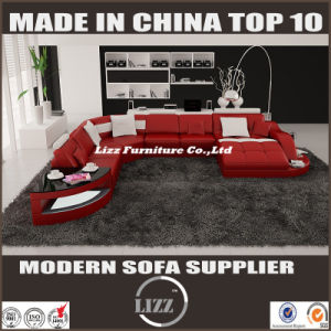 2017 New U Shape Living Room Furniture Sofa Bed (LZ 2217) pictures & photos