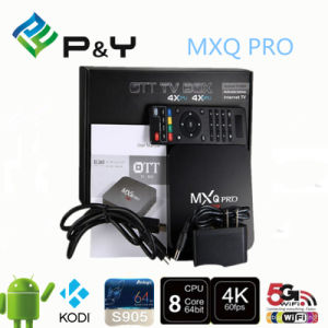 Factory OEM ODM Service Android 5.1 Marshmallow TV Box S905 Quad Core Mxq PRO Kodi Xbmc TV Box pictures & photos
